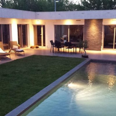 B&B jardin et piscine