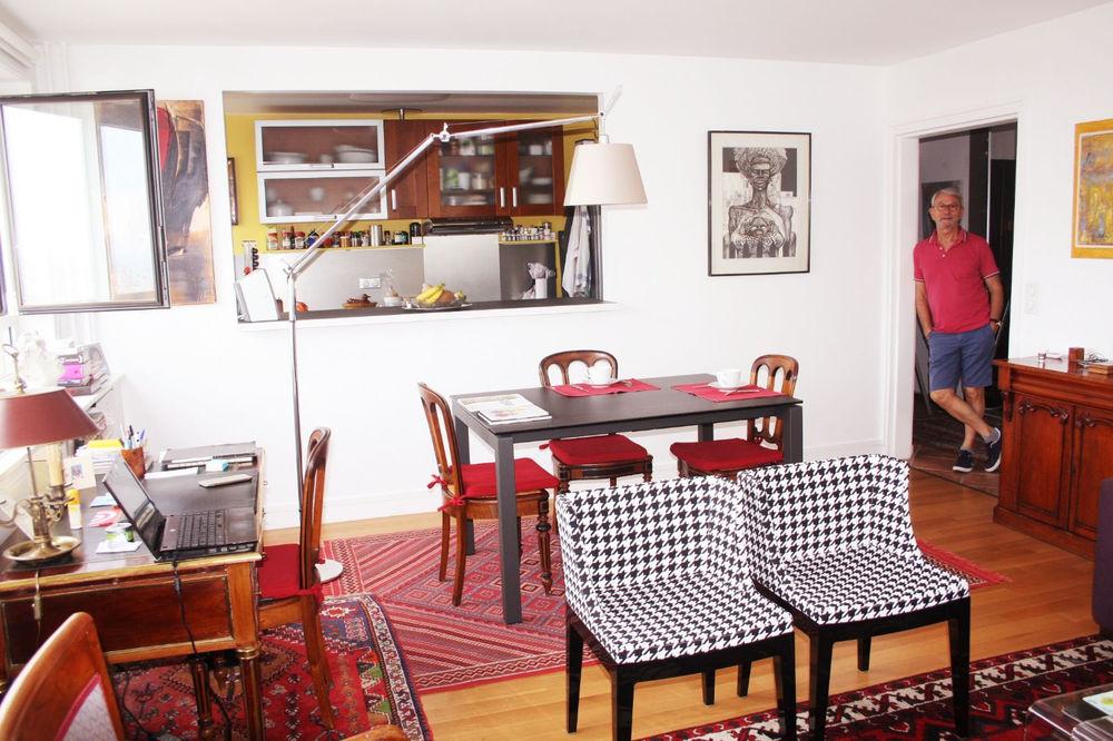 Chambre avec vue sur Paris