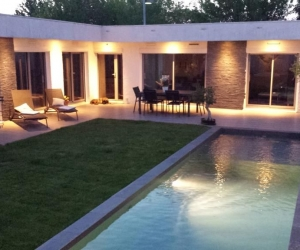 B&B avec jardin et piscine