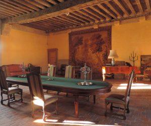 Château des Rosières grand salon