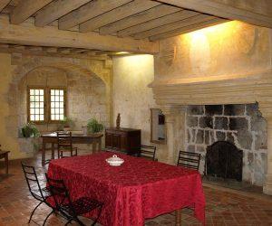 Château des Rosières salle suite marguerite