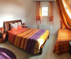 Villa Trouz Ar Mor – Chambre Orange
